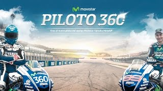 360Video //  Piloto 360 Movistar Yamaha