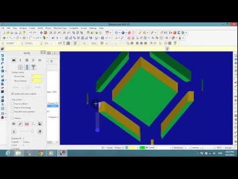 mastercam x9 3d mill tutorial pdf