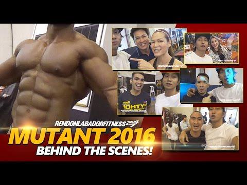 MUTANT BODYBUILDING 2016: Behind The Scenes!