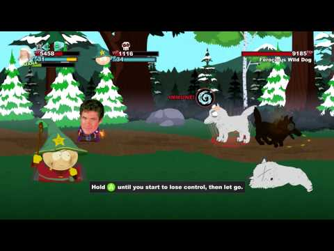South Park: The Stick of Truth - Mage Abilities
