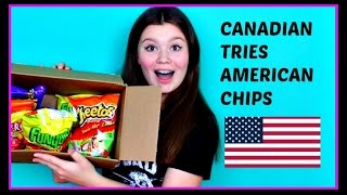 CANADIAN TRIES AMERICAN CHIPS!