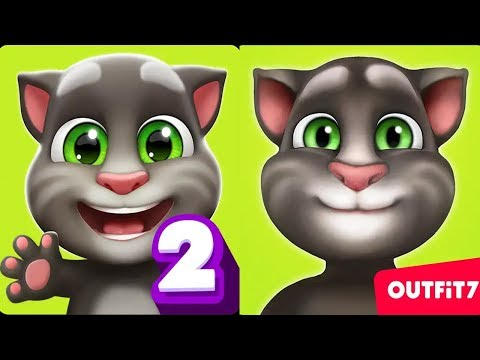 My Talking Tom 2 Vs My Talking Tom - Android Gameplay #1