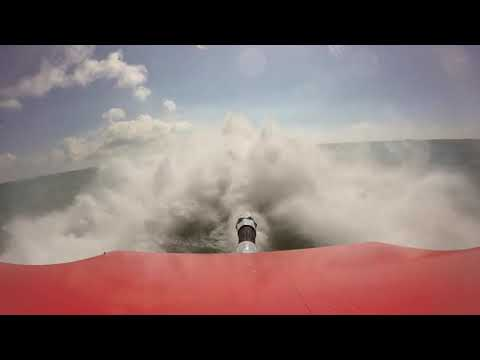 Wake Effects Offshore Racing Rear Camera View Running in Key West