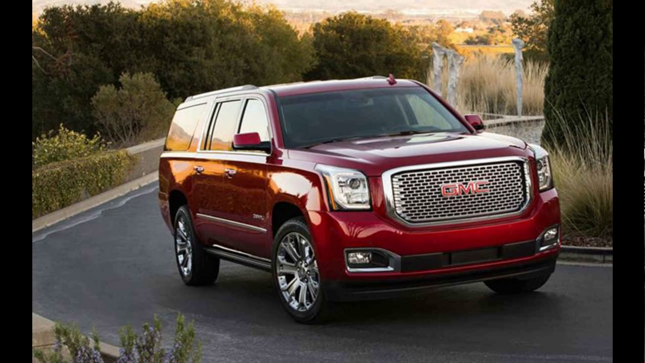 NEW 2018 GMC Yukon Denali XL - YouTube