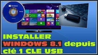 Formater Et Installer Windows 8.1 PRO / ENTREPRISE Depuis Une Clé USB | Tutoriel Explicatif 2014