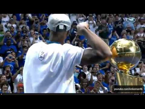 Tyson Chandler, Jason Terry - Dallas Mavericks Victory Parade