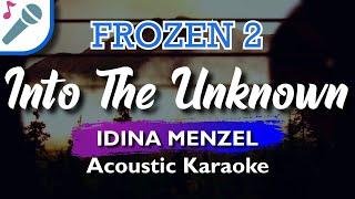 🎤 FROZEN 2 - INTO THE UNKNOWN - IDINA MENZEL & AURORA (KARAOKE VERSION)