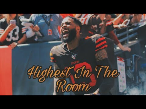 "Odell Beckham Jr ""Highest In The Room"" Browns Highlights Ft. Travis Scott"