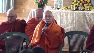 Waso Robe offering CeremonyAsoka Monastery Sydney 20 7 2014