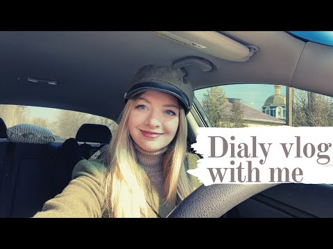 Daily Vlog from Ukraine. My routine