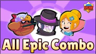 All Epic Brawlers | Brawl Stars | Smash and Grab