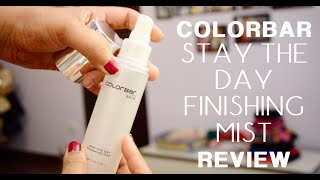 Colorbar Stay The Day Finishing Mist Review