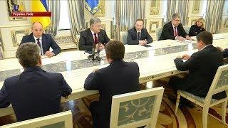 Петро Порошенко закликав парламент підтримати звернення до Вселенського Патріарха