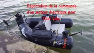Transformation moteur électrique pour float tube