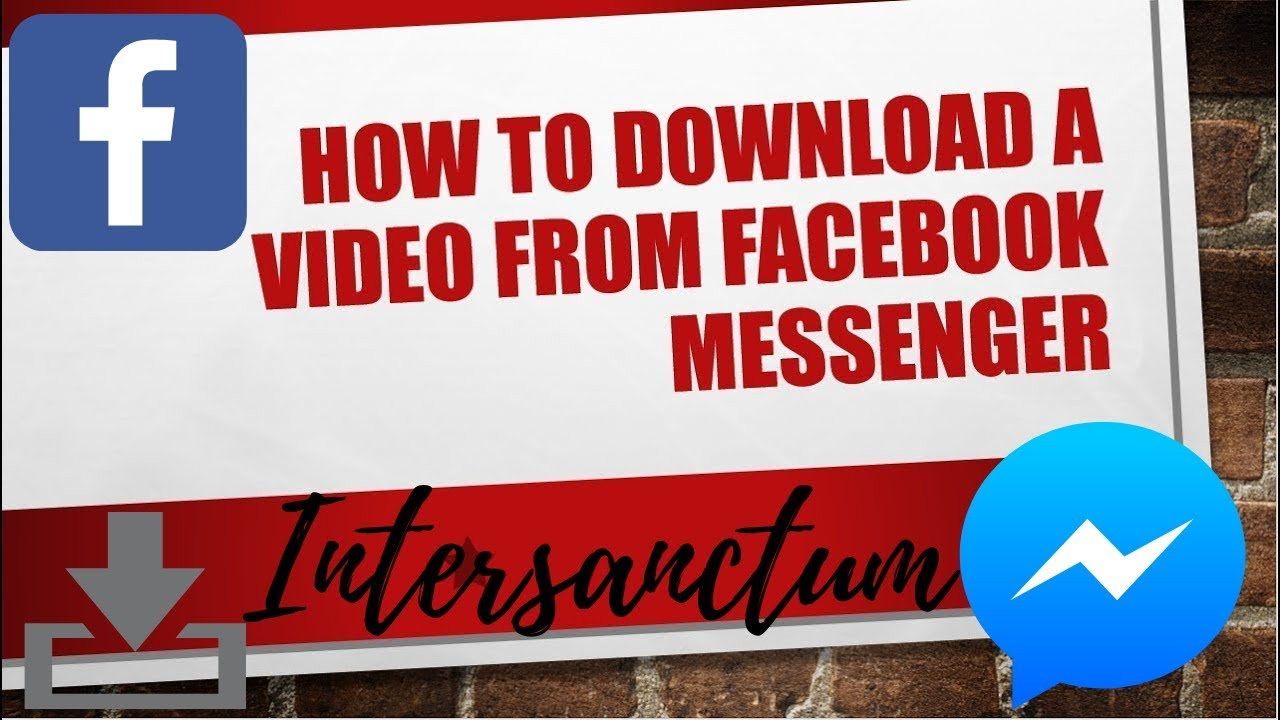 messenger video downloader