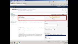 Create SharePoint 2010 Web Application in Central Administration - Video
