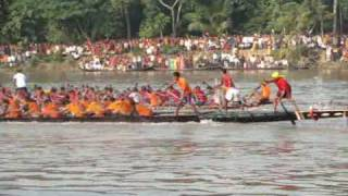 Traditional Boat Race Abhaynagar Bangladesh-2009