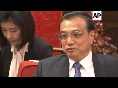 Premier Li meets US House minority leader Pelosi