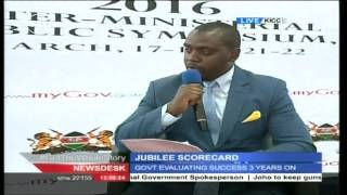 JUBILEE SCORECARD: Government evaluating success and failures after three years on