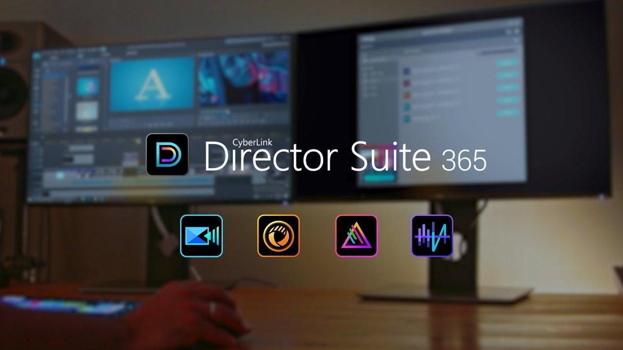 Director Suite 365 (2020) - Video-, Foto- und Audiobearbeitungssoftware für Content Ersteller