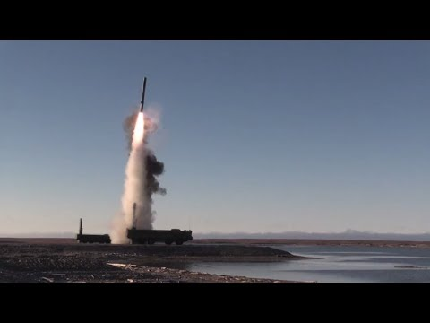 Russian Bastion missile complex successfully tested in the Arctic streaming vf