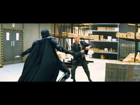 KickAss 2010 Big Daddy warehouse shootout fight scene HD 720p