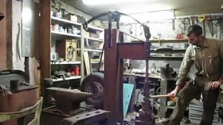 Homemade Power Hammer