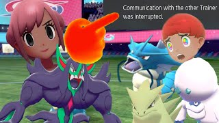 Metronome Grimmsnarl Makes OU Tryhard Salty and Rage Quit Pokemon Sword and Shield Wi-Fi Battle #3