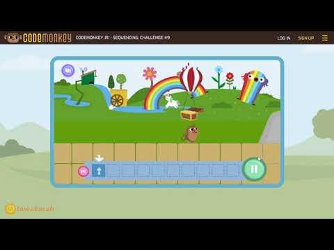 15 menit belajar coding untuk anak SD/TK - tutorial gratis dari codemonkey junior