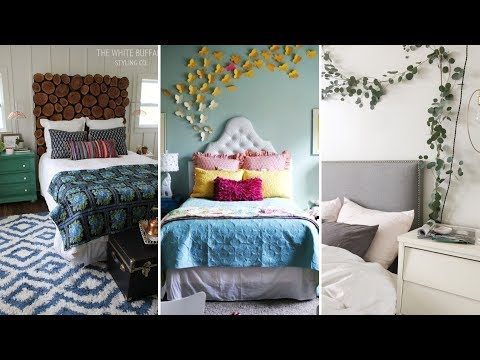 10 DIY Small Bedroom Decorating Ideas