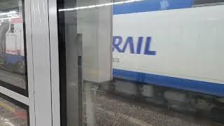 코레일 8568호 시멘트 화물열차 용산역 통과