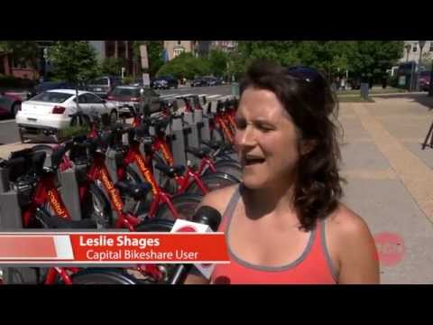 "Washington Full Circle ""Bobette Brown & Capital Bike Share"""