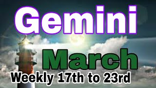 GEMINI March2019 CHOICES OPTIONS MAJOR NEW BEGINNING DO WHAT YOU LOVE BALANCE COMES IN Tarot Reading