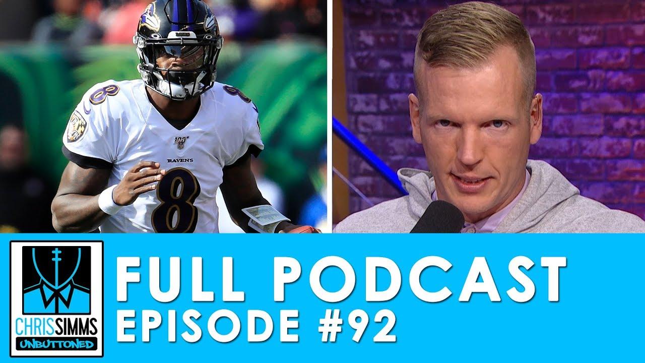 NFL Week 11 Picks: Lamar vs. Deshaun, Patriots seek revenge | Chris Simms Unbuttoned (Ep. 92 FULL)