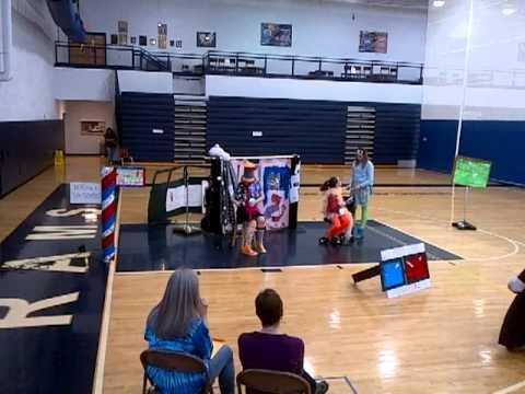 Ichabod Crane Middle School Odyssey of the Mind team, 03/09/2013
