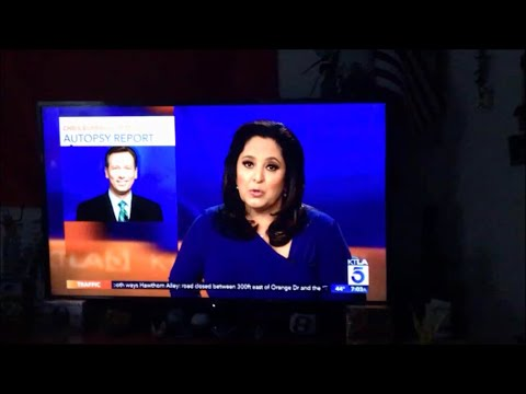 Chris Burrous Autopsy Reported On KTLA 5 Weekend Morning News