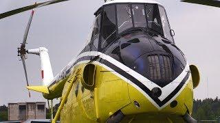 Восстановленный до летного состояния вертолет  Ми-4А на аэродроме МАРЗ quot;Черноеquot;/ Helicopter /