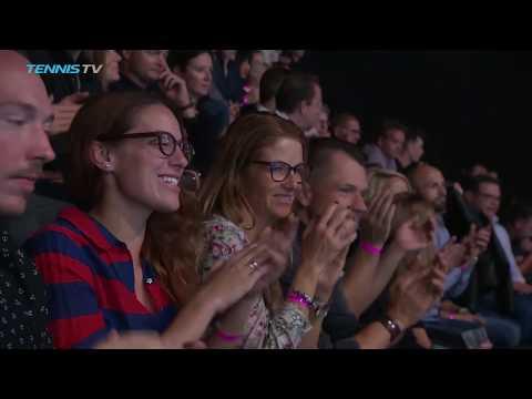 Federer Rolls; Copil Shocks Zverev | Basel 2018 Semi-Final Highlights