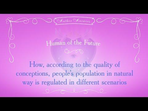 How people's population in natural way is regulated in different scenarios.