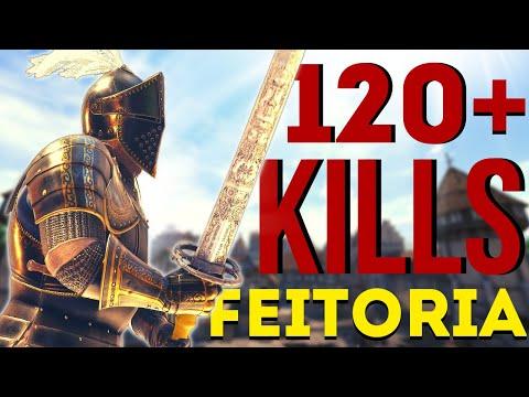 Feitoria Invasion Gameplay W/120+ KiIIs | Mordhau