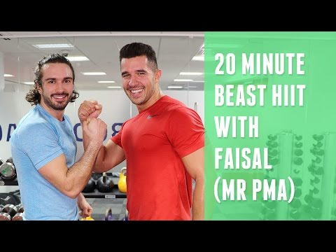 20 Minute Fat Burner With Faisal (Mr PMA) | The Body Coach