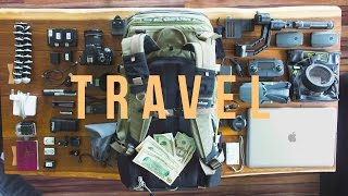 The ULTIMATE Travel Film Gear //Sony A7sii//Zhiyun Crane//Dji Mavic Pro