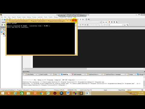 #3 C++ Programming Language Tutorial- First Program and fundamental thumbnail