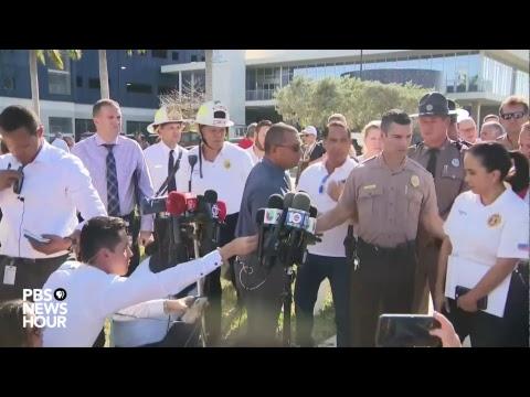 WATCH: Officials provide update after bridge collapse at Florida International University