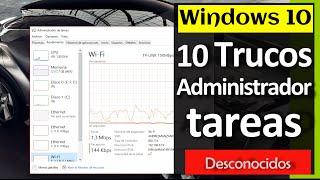 10 Trucos del Administrador de tareas - Windows 10 (Desconocidos)