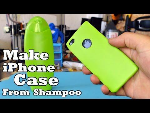 Make Phone Case from  Shampoo Bottle!