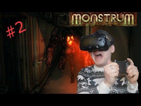 Monstrum VR HTC VIVE REACTION // BLOODY TENSE