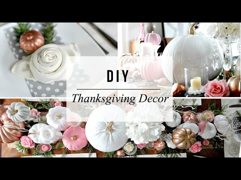 thanksgiving-table-setting-decor---enchanted-forest-theme-|-diy-fall-wedding-|-dollar-store-goodies!