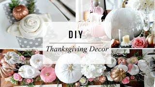 DIY Thanksgiving Decor - Enchanted Forest Theme | DIY Fall Wedding | Dollar Store Goodies!