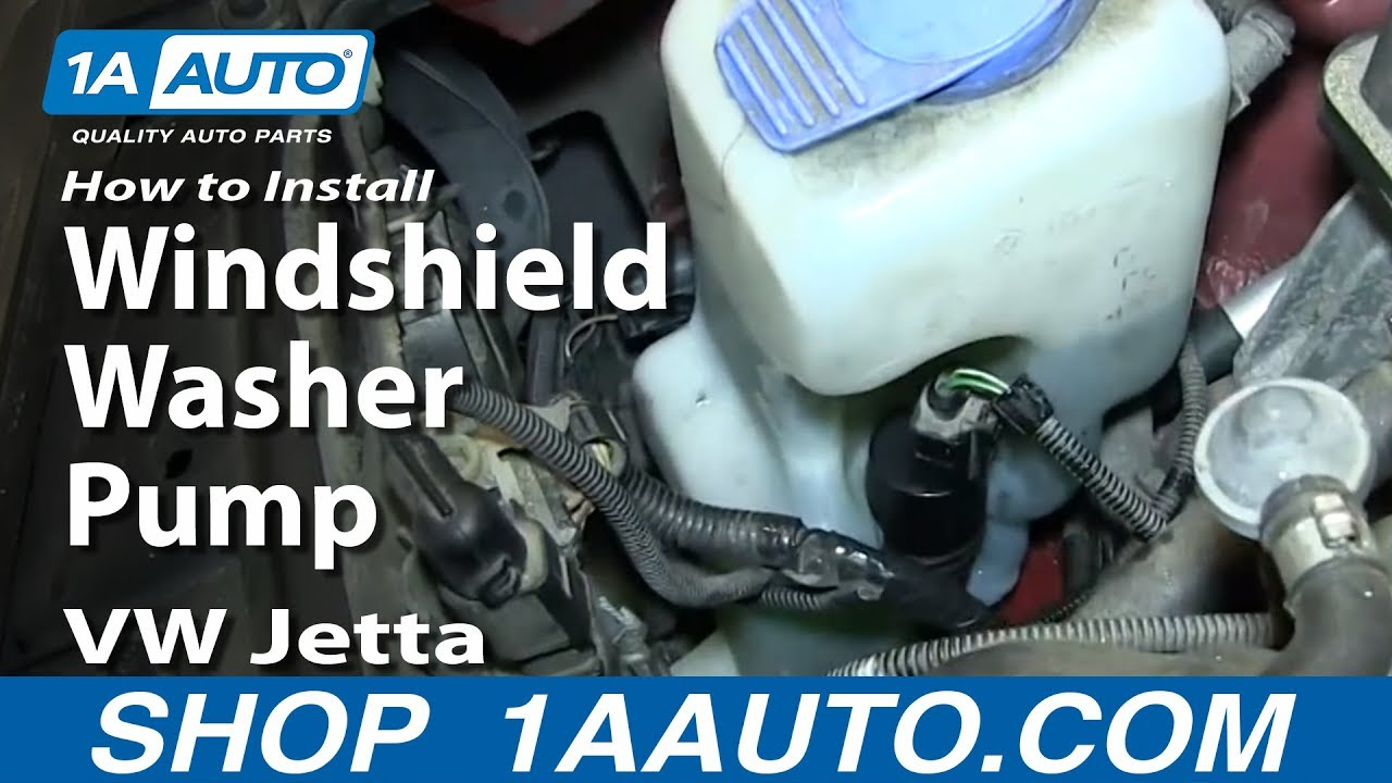 maxresdefault how to install replace windshield washer pump 2000 06 vw jetta MK3 Jetta Wiring Diagram at webbmarketing.co